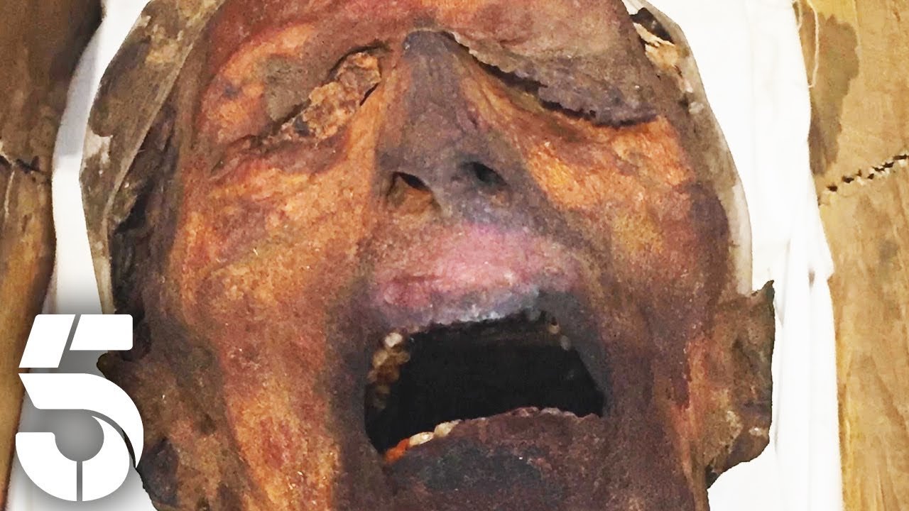 What Does This Screaming Mummy Show? | Egypt's Unexplained Files | Channel 5 #AncientHistory