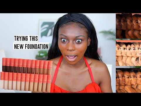 IS IT REALLY THE WORLD'S MOST FULL COVERAGE FOUNDATION? 42 SHADES, FROM JUVIAS PLACE