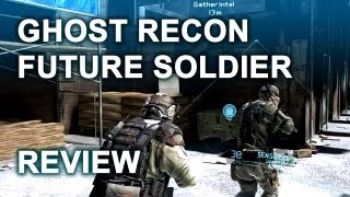 Ghost Recon Future Soldier Review with Multiplayer Gameplay GRFS | Xbox 360, PS3, PC