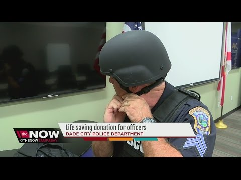Dade City Police Department receives life saving donations