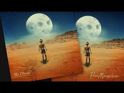 Advance Photoshop Manipulation Tutorial - The Moon thumbnail