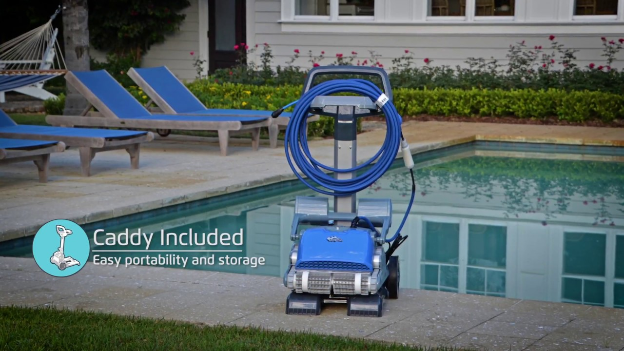 dolphin m 500 robotic pool cleaner by maytronics youtube. Black Bedroom Furniture Sets. Home Design Ideas