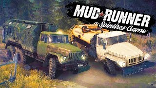 INSANE MULTIPLAYER OFF-ROADING AND LOG DELIVERY MISSION! - SpinTires: MudRunner w/GrayStillPlays!