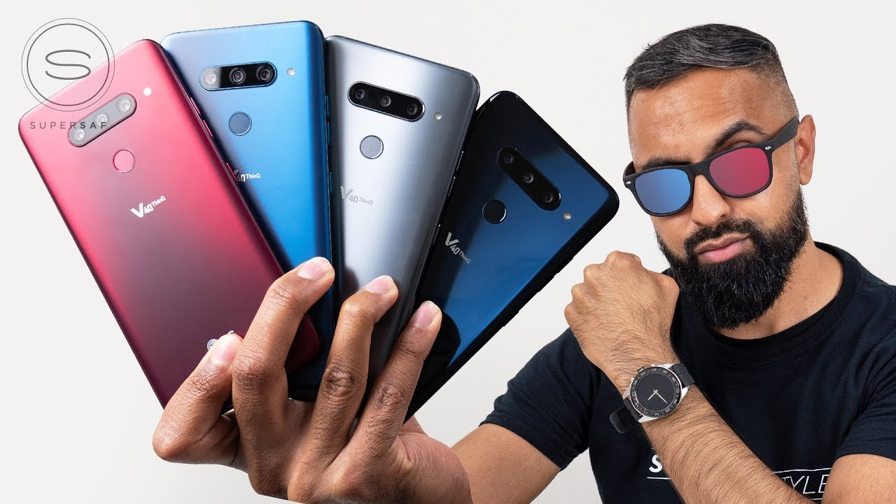 LG V40 ThinQ - Unpacking (All Colors)