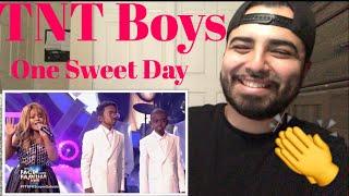 Reaction to TNT Boys Mariah Carey and Boys II Men performance.