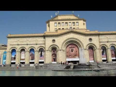 Republic Square Yerevan.MOV