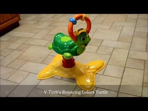 V-Tech Bouncing Colors Turtle Review