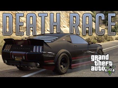 Death Race Mustang Vapid Dominator Gta V Custom Car Build