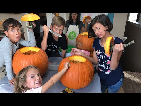 Live Halloween Special- Q&A, giveaway & carving Pumpkins!
