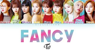 Twice 트와이스 Fancy Color Coded Han Rom Eng MP3