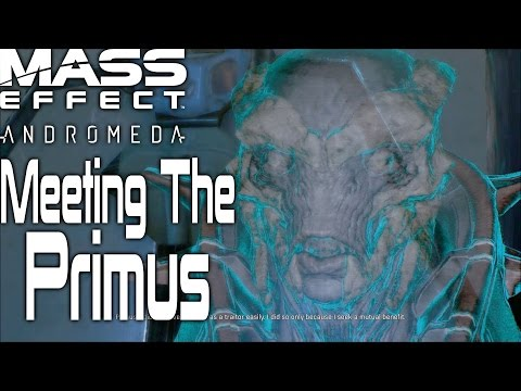 Meeting The Primus And Making A deal   Mass Effect Andromeda