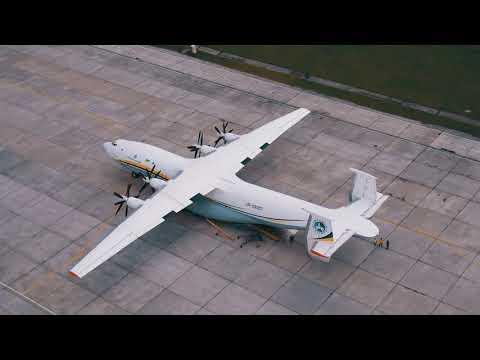 """АН-22 """"Антей"""" съемка с дрона / AN-22 Antey Drone Shooting"""
