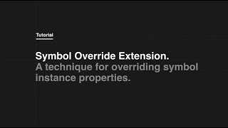 Symbol Override Extension to Tumult Hype