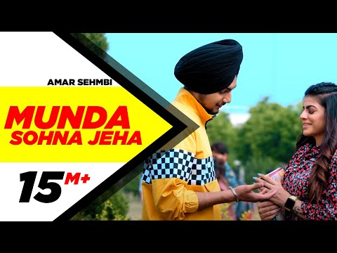 Munda Sohna Jeha (Official Video) | Amar Sehmbi | Desi Crew | Latest Punjabi Songs 2020
