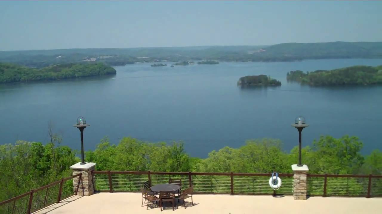 View from the lodge and swimming pool at lake guntersville - Guntersville public swimming pool ...