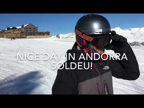 HBC Ski in Soldeu, Andorra 12.01.2017