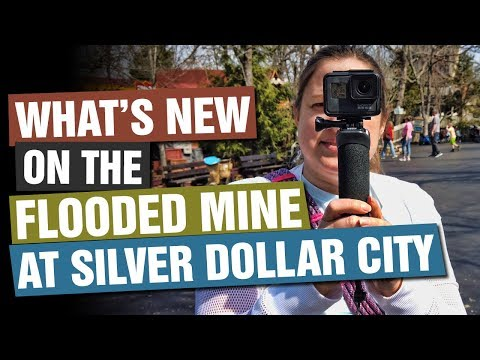 WHAT'S NEW On The Flooded Mine Full Ride? FULL RIDE! Silver Dollar City, Branson, Missouri
