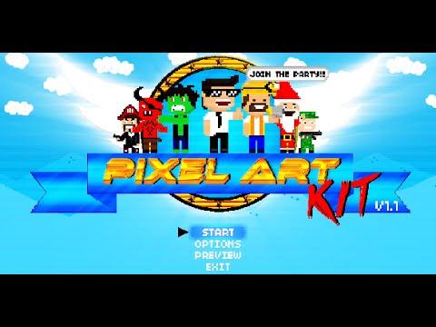 Pixel Art Kit | After Effects template