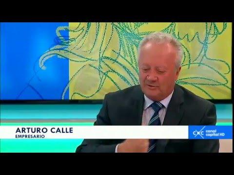 Entrevista con Claudia Palacios - Arturo Calle, empresario