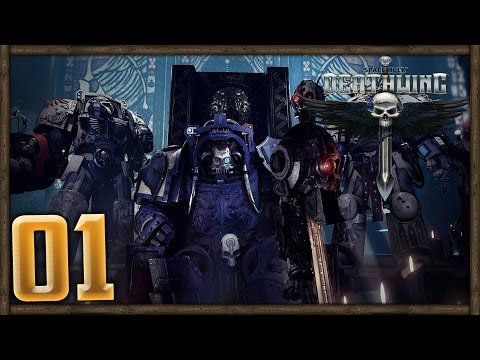 IMPERIAL MIGHT - WH40K - Space Hulk: Deathwing Campaign (1080p 60fps) FULL GAME - Chapter 1