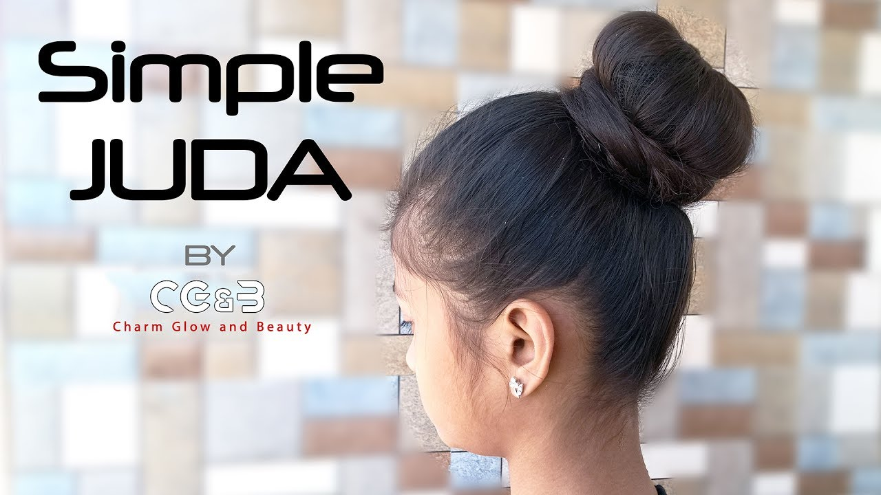 Simple Stylish Juda A Quick And Easy Hairstyle For Any Party Youtube