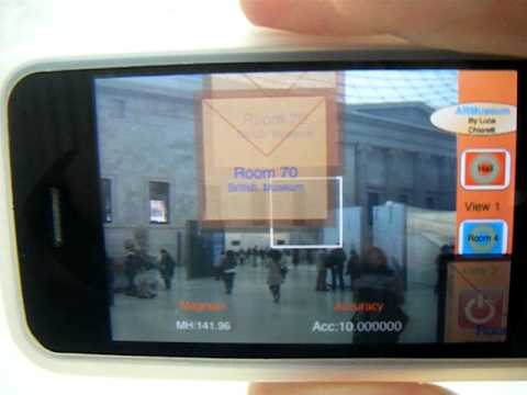 Augmented Reality in the British Museum