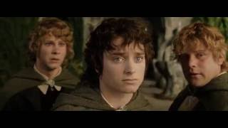 Властелин Колец Возвращение Короля - Прощание, Отплытие Фродо в Валинор