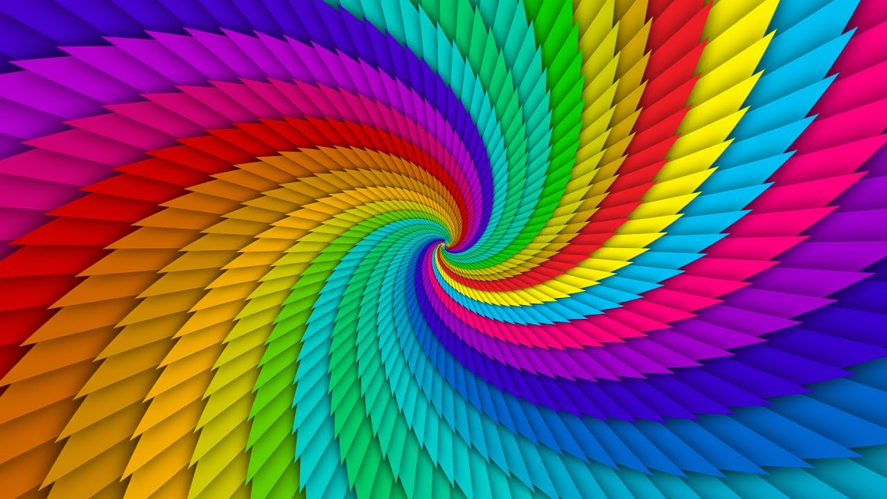 How to create colorful swirl background in adobe Photoshop cc
