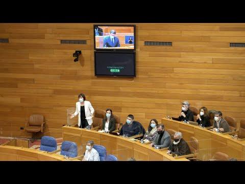 """Ana Pontón: """"Perder os fondos europeos de reconstrución é un portazo ao futuro de Galiza"""""""