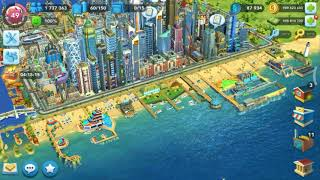 SimCity-BuildIt | Neosantara City Aerial View | Beautiful City