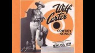 When the Rain Tumbles Down in July  --- Wilf Carter