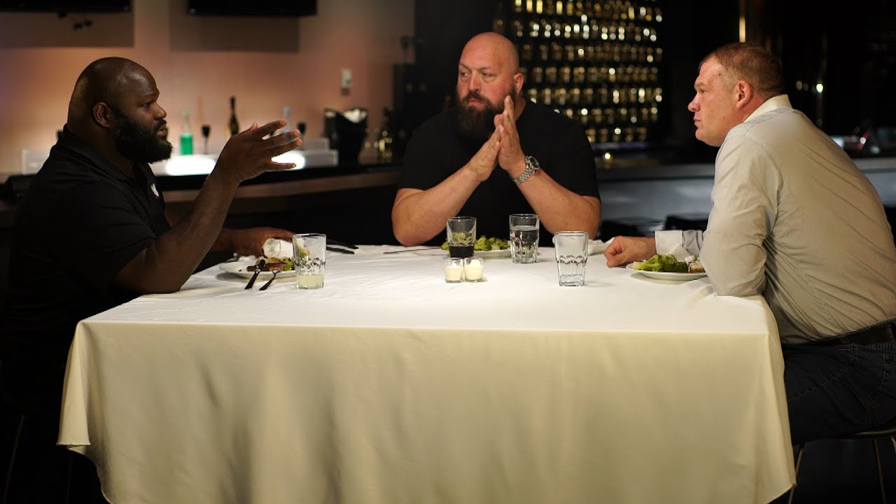 big show reveals who wwe 39 s strongest athletes are on wwe network 39 s table for 3 youtube. Black Bedroom Furniture Sets. Home Design Ideas