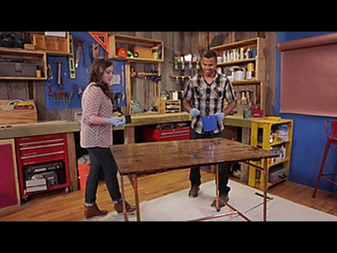 How to Seal a Tabletop - DIY Network