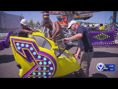 Rich Lauber - New York State Fair Officials Take The Midway Rides Safety Very Seriously!
