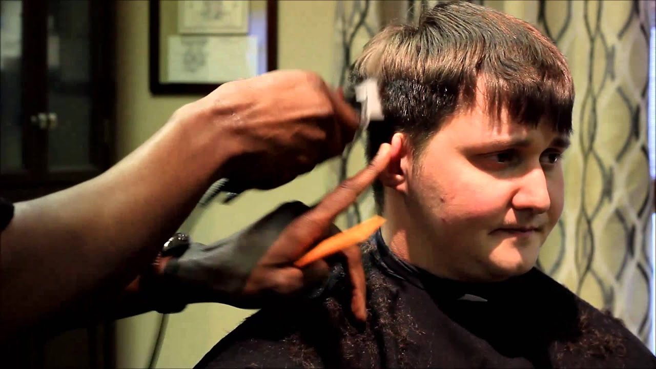 Lovely Grooming Tips Businessman Taper Haircut   YouTube