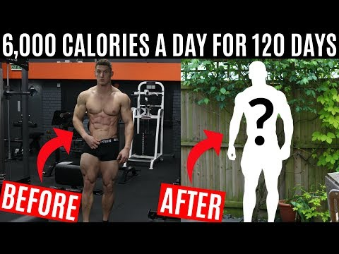 I ate 6,000 CALORIES A DAY for 120 DAYS and this is what happened
