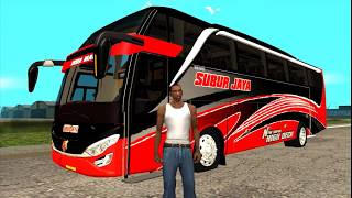 Bus Subur Jaya Super High Deck non Telolet - GTA Mod Indonesia