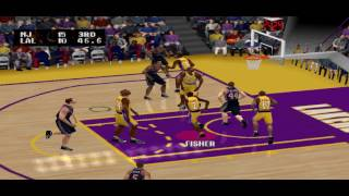 NBA Live 2002 PS1 Gameplay HD