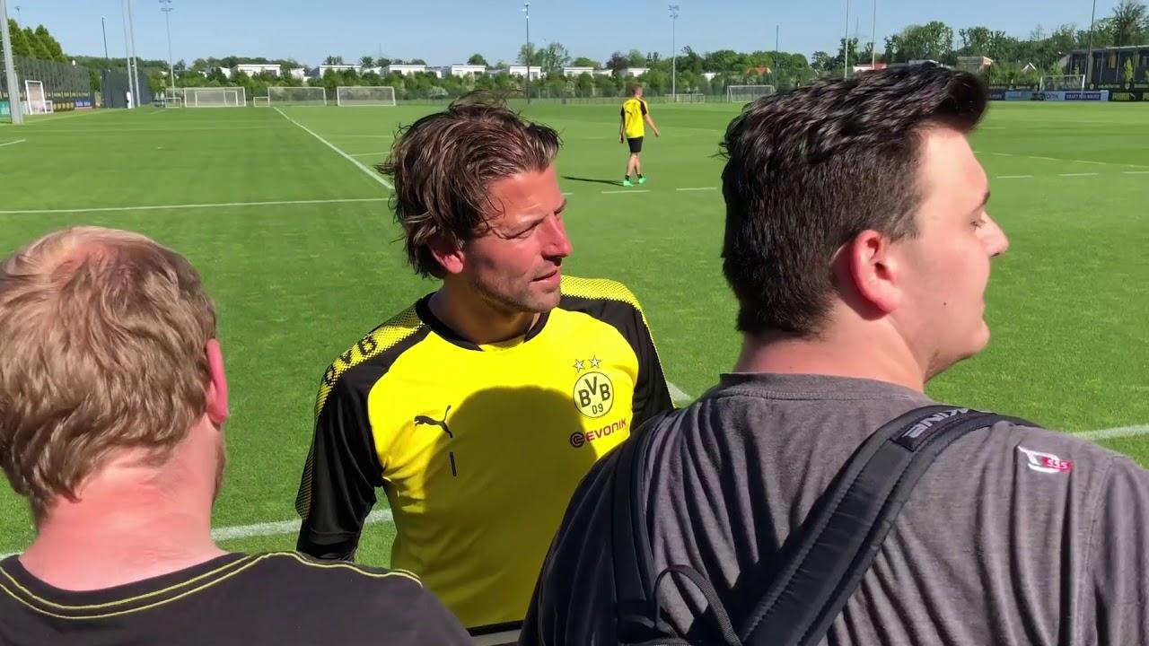 Öffentliches BVB-Training in Brackel am 8. Mai