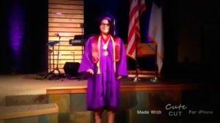 Adrianna's graduation
