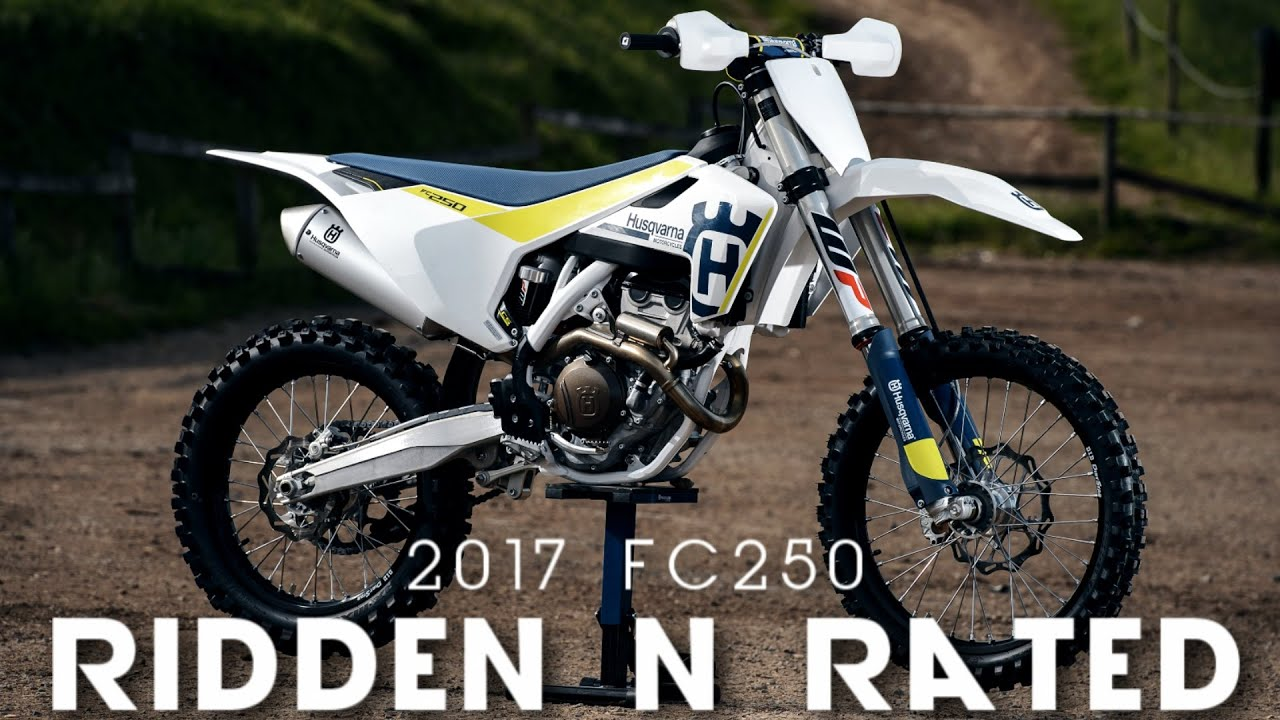 2017 husqvarna fc 250 ridden and rated youtube. Black Bedroom Furniture Sets. Home Design Ideas