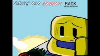 [ALTES VIDEO] [Alte Roblox-Erinnerungen