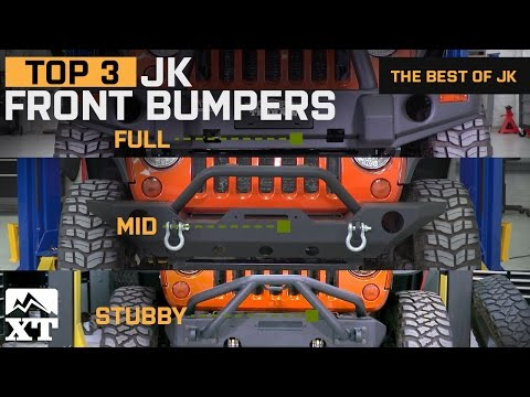 The 3 Best Jeep Wrangler Bumpers For 2007-2017 JK Unlimited Rubicon Sahara Sport