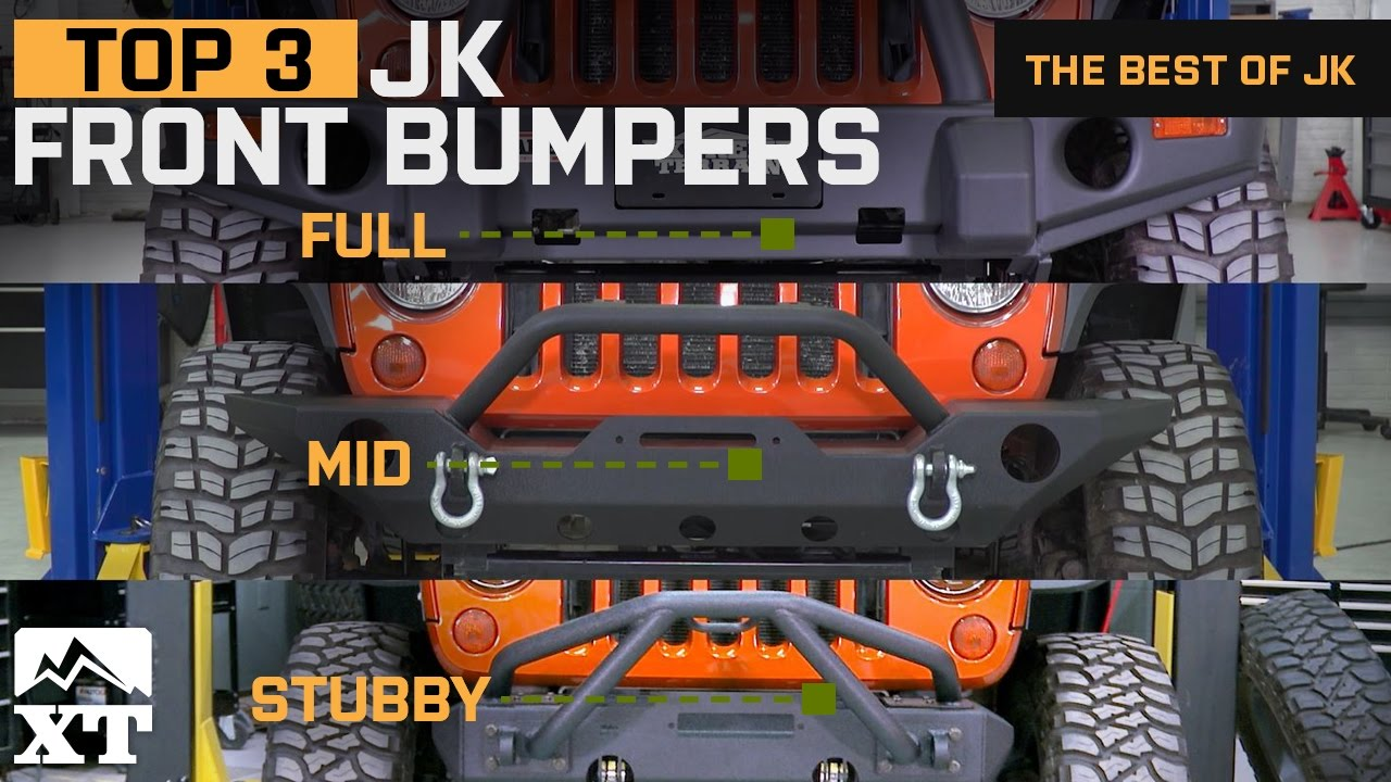 The 3 Best Jeep Wrangler Bumpers For 2007 2017 Jk Unlimited Rubicon Winch Rear 2008 Sahara Sport