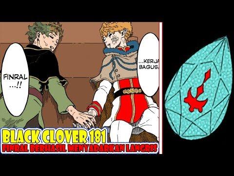 Pembahasan Black Clover 181, Pukulan Kasih Sanyang Seorang Kakak Berhasil Menyadarkan Langris