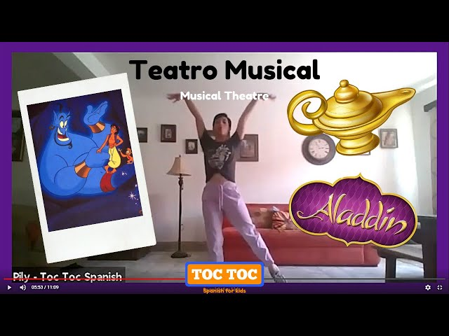 Clase de Teatro Musical 🎭🎶 - Toc Toc Spanish Bilingual Summer Camp 🚪