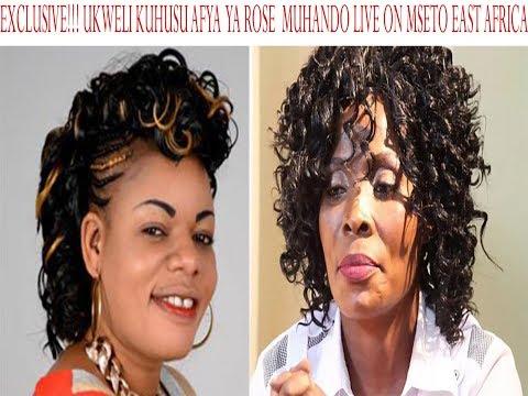 EXCLUSIVE!! ANNASTACIA MUKABWA AFICHUA ROSE MUHANDO ALIKO NA HALI HALISI YA AFYA YAKE