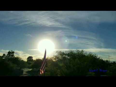 Tucson, Arizona Sunset Time-Lapse 1080p Resolution