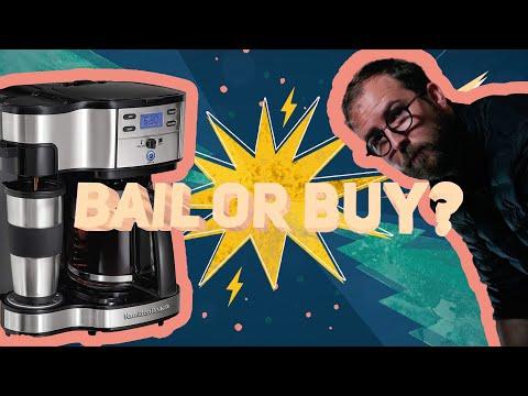 Bail or Buy? – Hamilton Beach 2-Way Coffee Maker Review