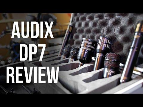 Audix DP7 Drum Microphones Review